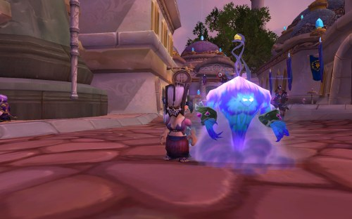 Pygmy with kirin tor pet