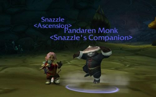 Snazzle & Pandaren dancing 2